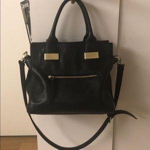 PERFECT bold black medium size Steve Madden bag